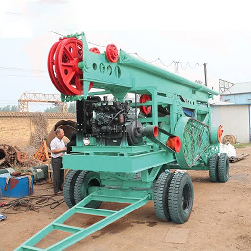 HF-8A Percussion Drilling Rig