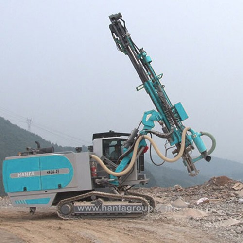 HFGA-45 Automatic Down The Hole (DTH) Surface Blast Hole Drill Rig