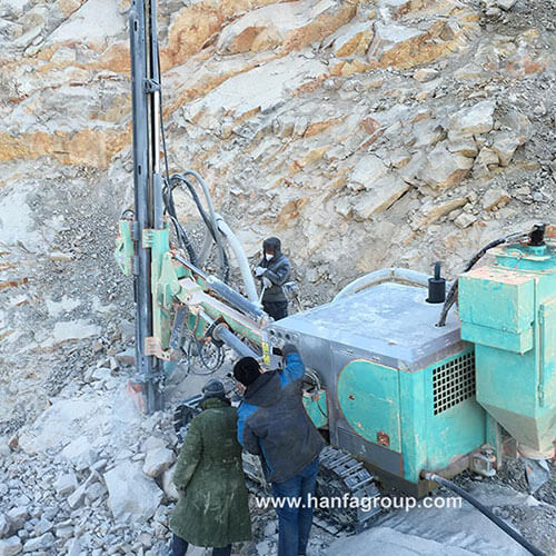 HFG-45 Separated DTH Drill Rig