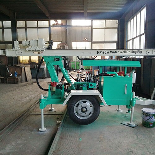 HF120W Water Well Drilling Rig